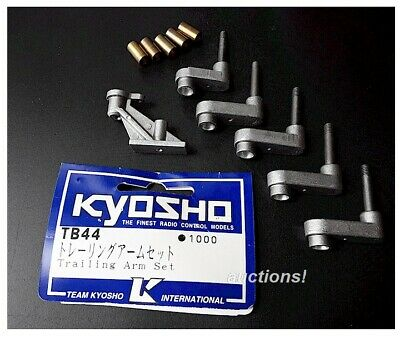 Vintage RC KYOSHO Buggy TB44 Blizzard DX Heavy Metal Trailing Arm Set Old Stock