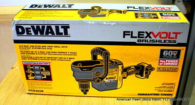 NEW DEWALT FLEXVOLT 60V MAX Stud and Joist Drill E-Clutch  DCD460B BARE TOOL