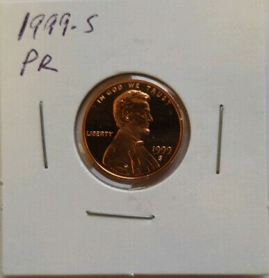 1999-S Lincoln Cent Proof