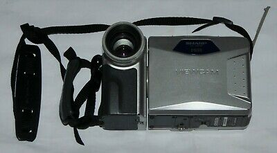 Sharp VL-AH151 Hi8 8mm Viewcam Video Camera With Charger Battery And Sony Tape