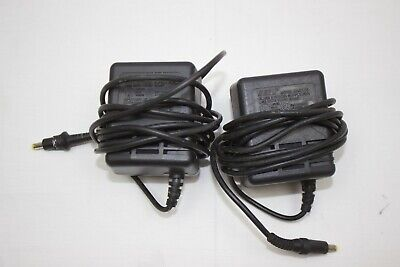 Genuine/OEM Sega Genesis Power Cord Adapter MK-2013 Lot Of Two Replacement