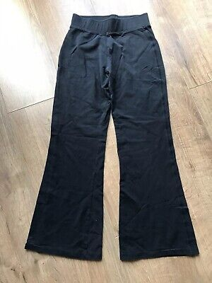M&S Kids Girls Black Gym Trousers - Age 9 Years