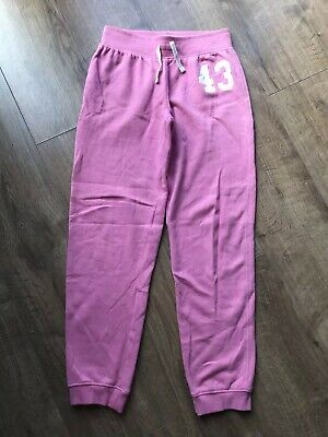 Next Girls Pink Tracksuit Trousers - Age 12 Years
