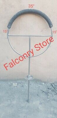 Falconry Perch Metal New Style 35""
