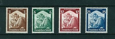 Germany 1935 Saar's Re-annexation. Complete set of stamps. Mint. Sg 562 -565.