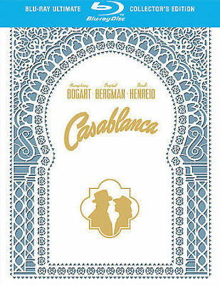 Casablanca (Blu-ray Ultimate Collector's Edition Box Set, 2008, 2-Disc Set) NEW