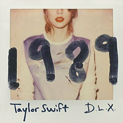TAYLOR SWIFT 1989 Deluxe Edition CD DVD Photo Bonus Track Japan F/S