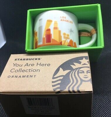You Are Here Collection Starbucks Mug 2oz - Los Angeles