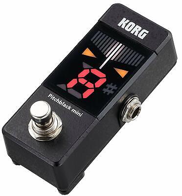 Korg Pitchblack Mini Guitar Tuner Pedal (PB01MINI) Brand New