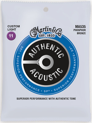 Martin Authentic Acoustic SP 11-52 CT-Light Phos Bronze Acoustic Guitar Strings