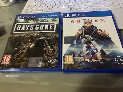 days gone ps4 Anthem Ps4