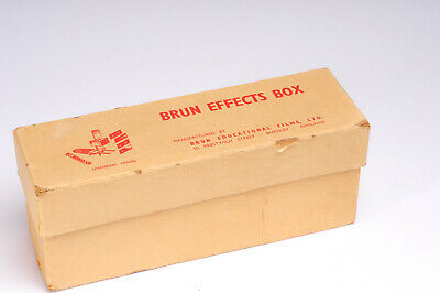 Brun Cine Effects Box - Cine Film movie editing Wipes and transitions kit