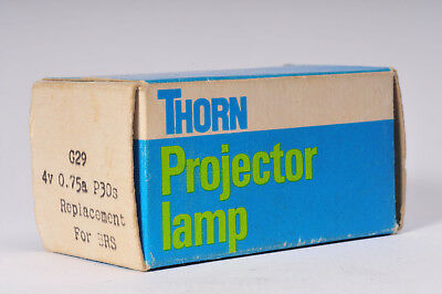 Thorn G29 4v 0.75a P30s for BRS Projector bulb