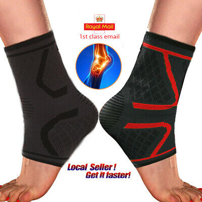 dba6a3dbb9 Ankle Support Compression Strap Achilles Tendon Brace Foot Sprain Injury  Wrap HT