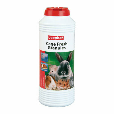 Beaphar Cage Fresh Granules Absorbs Smell in Small Animal Bedding Hutches 600g