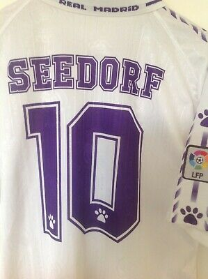 6346c3bfe2f Real Madrid Seedorf match worn issue camiseta Kelme vintage maglia shirt no  Ajax