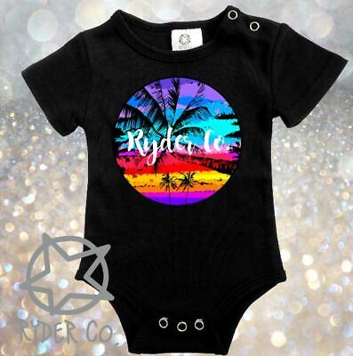 Ryder Co. Palm Circle Romper One Piece  ~ Baby CLEARANCE