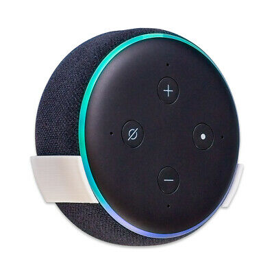Wall Mount Stand for Amazon Echo Dot 3rd Gen / Alexa - White