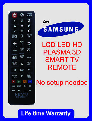 Samsung LED Smart TV Remote Control Replacement AA59-00602A /AA5900602A