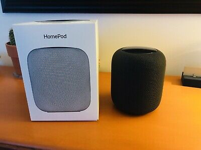 Apple HomePod (MQHW2B/A) Wireless Speaker (black)