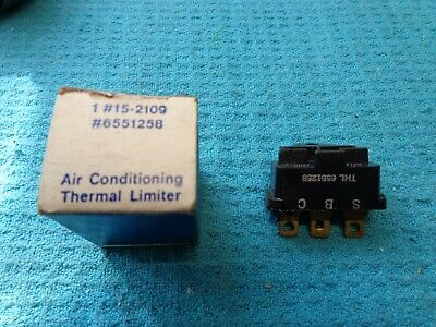 TL2 Thermal Limiter Switch-Fuse 6551258