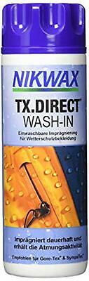 Nikwax TX. Direct Wash In Waterproofer  Assorted Sizes