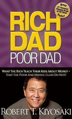 Rich Dad Poor Dad : What the Rich Teach Their Kids about Money That th-ExLibrary