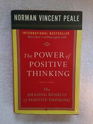 The Power of Positive Thinking Norman Vincent Peale Book  Hardcover