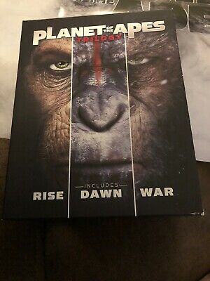 Planet Of The Apes Trilogy (4K Ultra HD, Blu-ray, 6 Disc Set)