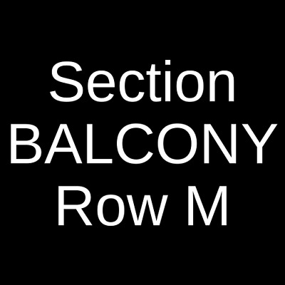 3 Tickets The Fab Faux 6/1/19 Hackensack Meridian Health Theatre Red Bank, NJ