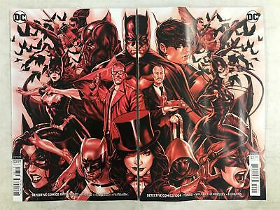 DETECTIVE Comics # 1003 1004 ~ Variant MARK BROOKS Connecting Covers BATMAN CAST