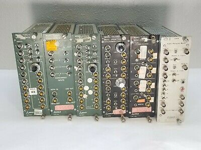 Lot of 6 Modules - 2 EG&G C144/n, T140/n, C104/n,TR204A/n & CI DRH Stirrup