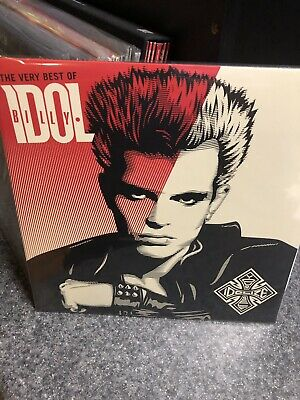 The Very Best Of Billy Idol Greatest Hits 2 Vinyl Lp Like New