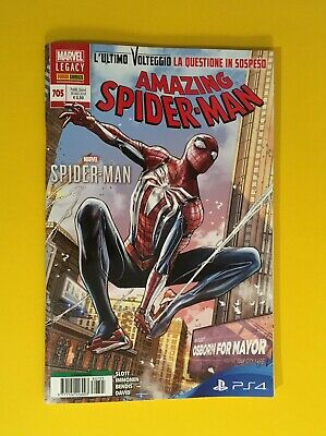 L'uomo Ragno 705 Amazing Spider-Man Sony Ps4 Panini Comics Marvel Legacy