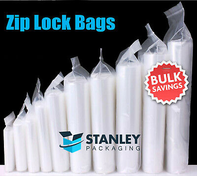 Resealable Zip Lock Clear Plastic Bags 45UM Recloseable Zippper Bag Buy in bulk
