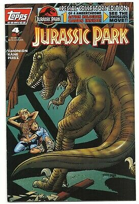 Topps Comics #4 of 4, JURASSIC PARK, August 1993.  Great comic book and movie!