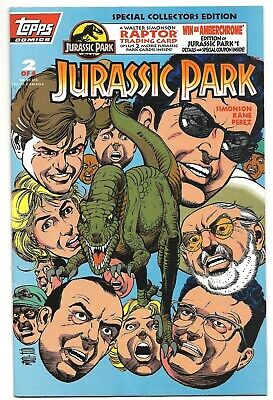 Topps Comics #2 of 4, JURASSIC PARK, July 1993.  Great comic book and movie!