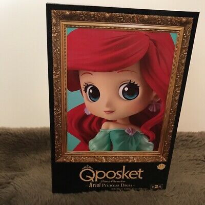 Banpresto Q posket Disney Characters Ariel Princess Dress Ariel figure Japan