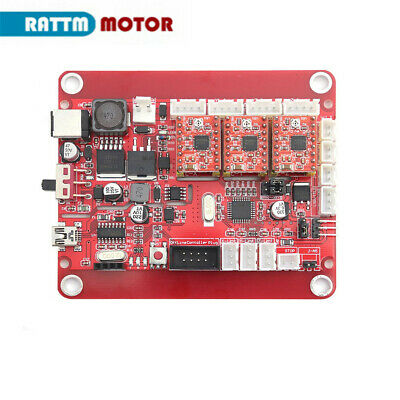 Updated CNC Engraving Machine Control Board USB 3Axis Laser Machine GRBL Control