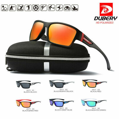 DUBERY Polarized Sunglasses Women / Men Space Cycling Sports Fishing UV400