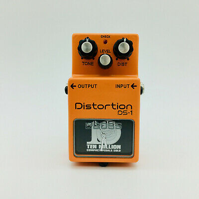 BOSS DS-1 Distortion Pedal 10 Million Sold