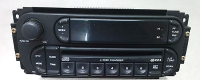 2003-2010 Jeep Chrysler Dodge 6 Disc CD Player Radio Receiver Stereo ID RBQ OEM