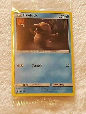 Limited Edition Pokemon Detective PSYDUCK Movie Trading Card SM199 PROMO 2019