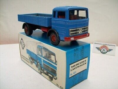 Mercedes LP 1624 Lastwagen, 1967, blue, CKO Kellermann (Germany) 1:35