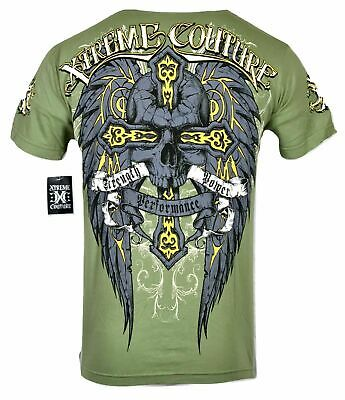 XTREME COUTURE by AFFLICTION Men T-Shirt THOR Biker Angel Wings MMA UFC S-2X $40