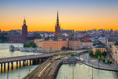 One Way Flight Ticket Stansted to Stockholm 28th May 2019