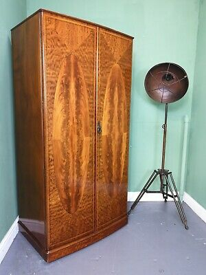 An Antique Early 20th Century High Quality Gentleman's Wardrobe ~Delivery Availa