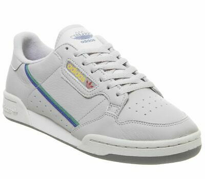 Adidas Continental 80S Trainers Grey Two Scarlett Trainers Shoes