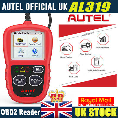 Car Fault Code Reader Engine Diagnostic Scanner Reset Tool OBD 2 CAN BUS EOBD