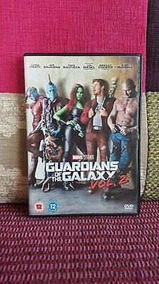 Guardians of the Galaxy: Vol. 2 DVD (2017) Chris Pratt  - Marvel Studios 1 Disc